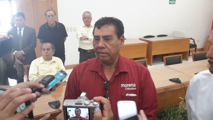 Morena no está detrás del paro de transporte, PRI necesita culpar a alguien porque gobierno no hace su trabajo: Chaparro   El Puntero