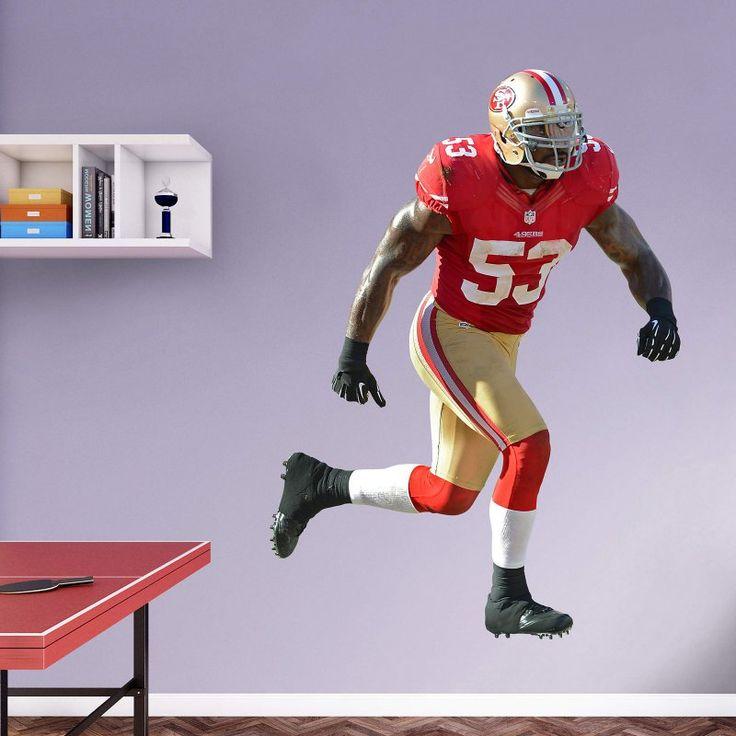 Fathead NFL San Francisco 49ers NaVorro Bowman Wall Decal - 12-21278