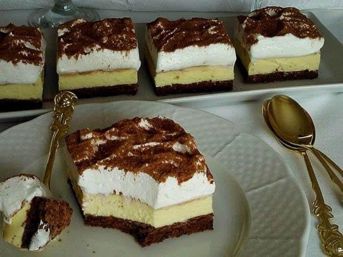 Pokud milujete svou rodinu a přátele, můžete jim připravit koláč, po kterém vás budou doslova zbožňovat. Můj manžel a děti si mě po něm celý den hýčkali suroviny které budeme potřebovat: těsto: 6 ks bílků 6 lžic krystalového cukru 3 lžic polohrubé mouky 40 g kakao 1 lžička prášku do pečiva do pečiva náplň: 600 …