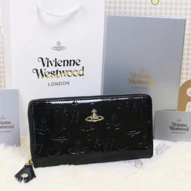 d99d522278b ヴィヴィアンウエストウッド 黒 新品未使用. Vivienne Westwood(ヴィヴィアンウエストウッド)のヴィヴィアンウエストウッド 黒 長財布  レディースの