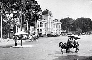 Postspaarbank in Weltevreden (now Gambir, Jakarta Pusat), 1925-1930