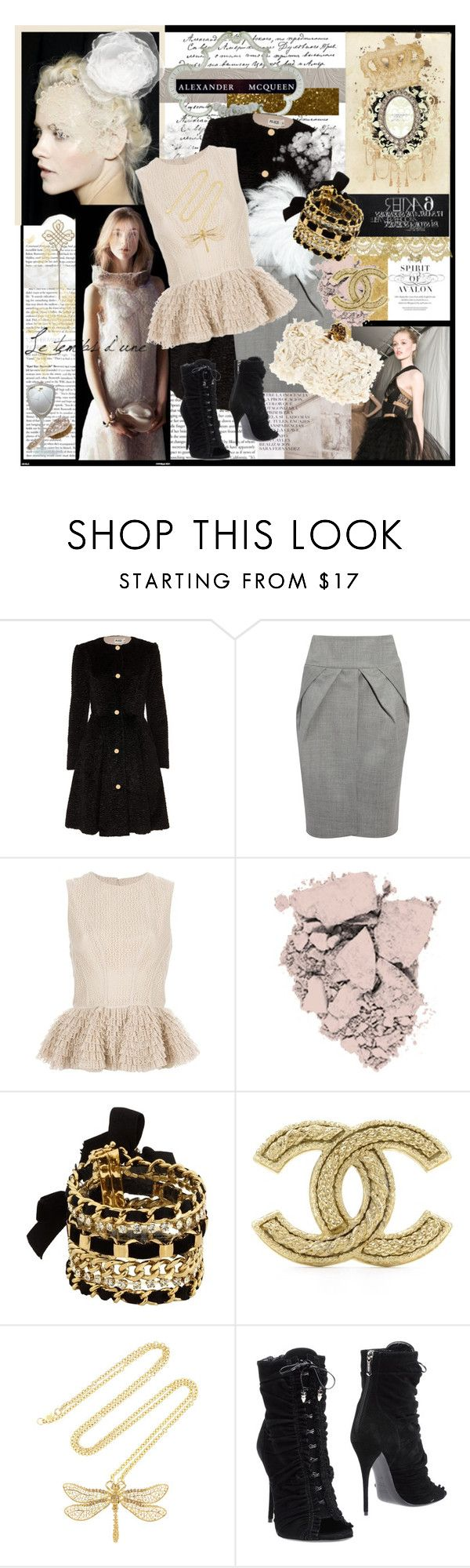 """""""the metamorphosis of : white swan"""" by tartlet ❤ liked on Polyvore featuring Alexander McQueen, Alice by Temperley, Giambattista Valli, GINTA, Revlon, Juicy Couture, FRIDA, Chanel, Balmain and AlexanderMcQueen"""