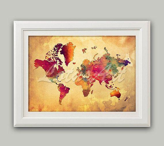 59 best Map Wall Art images on Pinterest