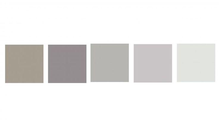 Dulux-colours Mangaweka, Old Eagle, Silkwort, Partita, Snow Season Quarter