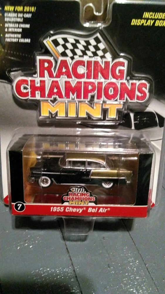 Racing Champions Mint 1955 Chevy Bel Air Die-cast 2016 Series w/Display Box  #RacingChampions #Chevrolet