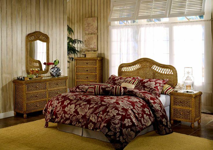 Image result for rattan bedroom furniture for tropical interior design