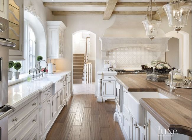 Kitchens I have loved- great island-White Kitchens - Design Chic