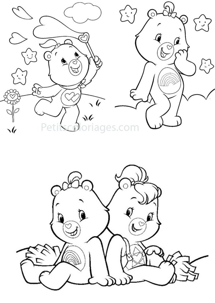 littlecare bear coloring pages - photo#41