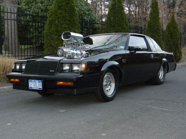 Black Blown Buick Grand National | Hot Rods | Pinterest | Grand ...