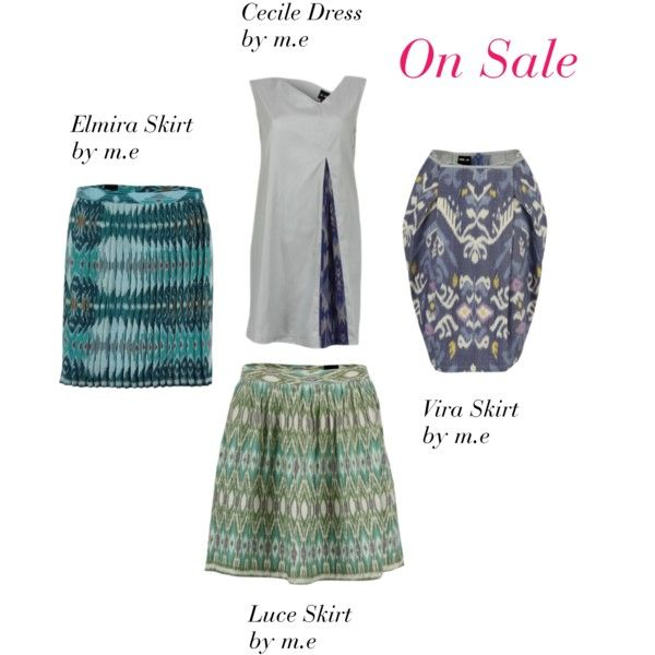 m.e at LAAVAA, created by laavaa on Polyvore - Get 20% off on these pretty ikat prints only until Sunday May 20!