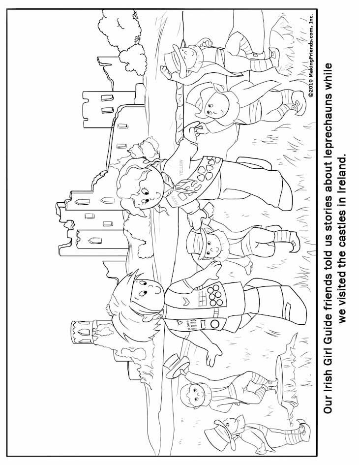 ireland coloring pages - photo#26