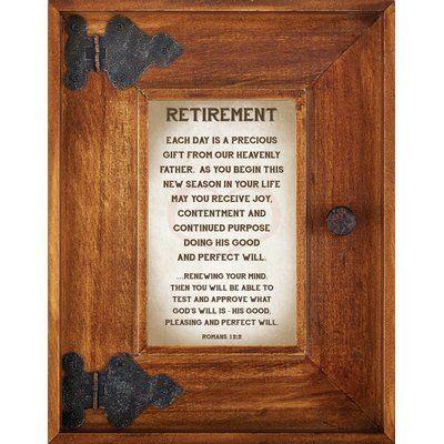CBGT Retirement Picture Frame
