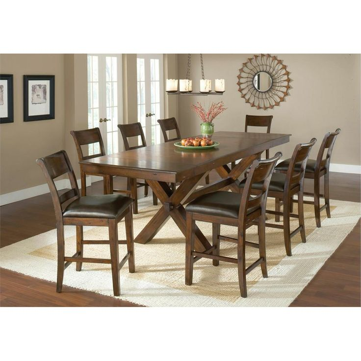 32++ Imagio home furniture 9 piece counter height dining set Top