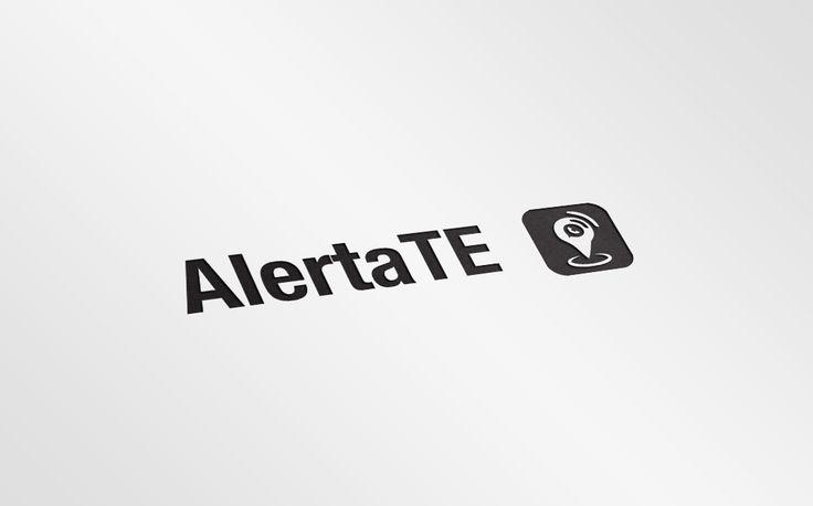 Diseño Logo - AlertaTE