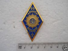 FRANCE French military badge 11e Regiment de Cuirassiers