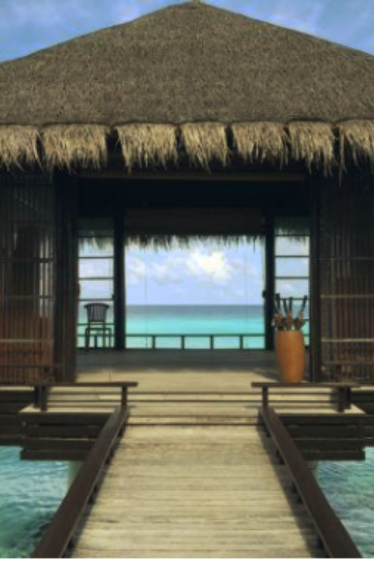 7 best places in the world to practice yoga:  North Malé Atoll, Maldives