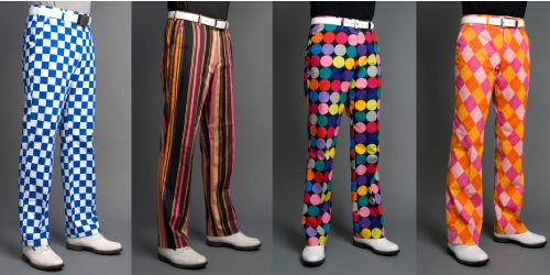 This will give my game the boost it needs!  http://www.golfgearz.com/loudmouth-golf-funny-and-crazy-golf-pants/