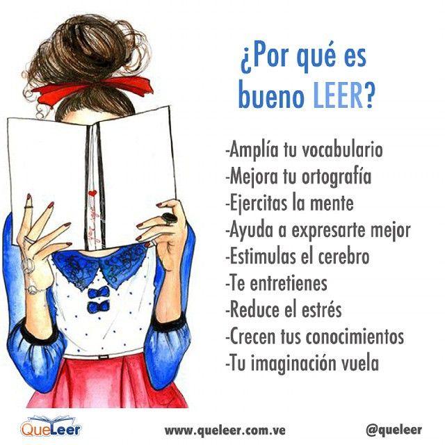 Y para ti, ¿Por qué es bueno leer?  #queleer #literatura #libros #book #reading…