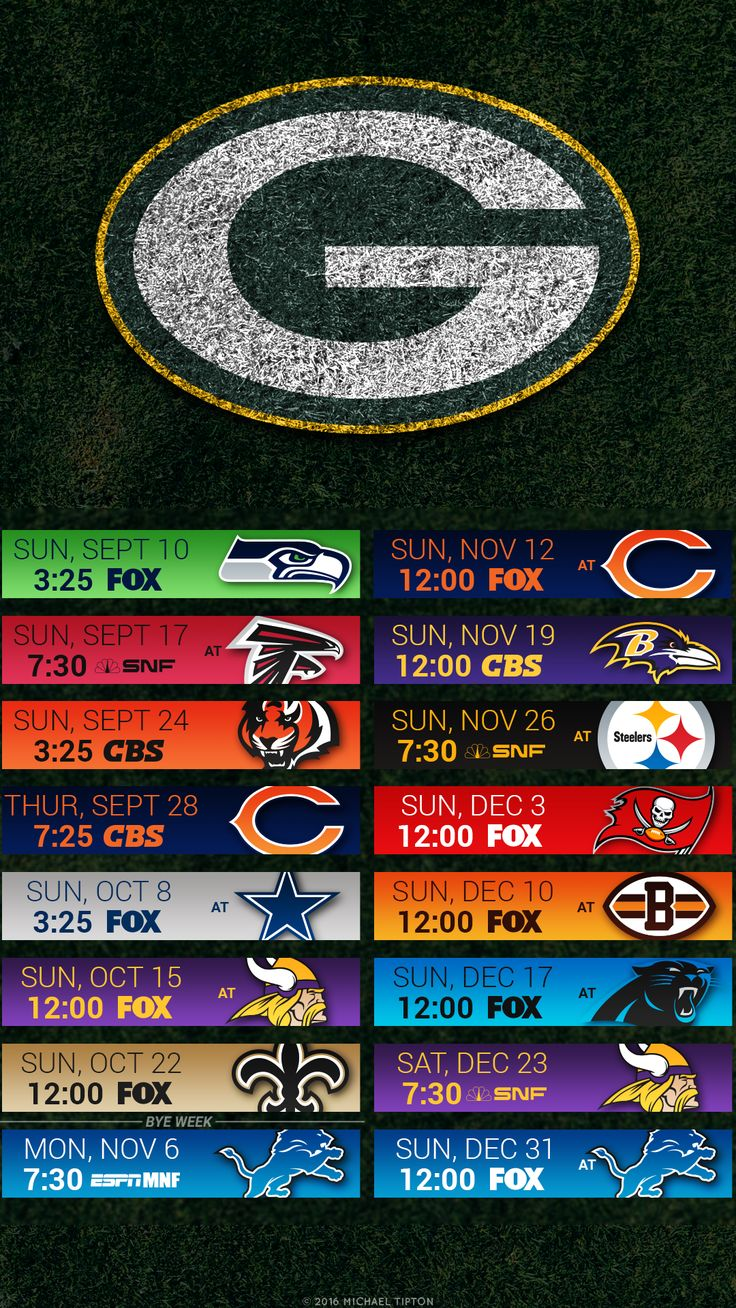 Green Bay Packers iPhone Wallpaper ohLays