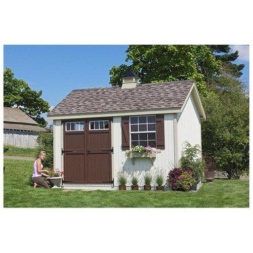 pinehurst colonial garden shed 8 x 16 ft - Garden Sheds 8 X 16