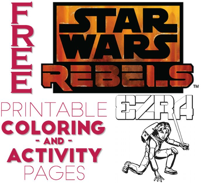 Disney Star Wars Rebels Coloring Pages Coloring Coloring Pages