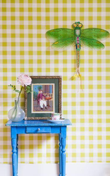 Mooi behang voor de babykamer - Room Seven behang groen - inspiratie ...