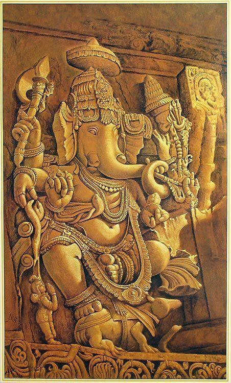 Ganesha - Reprint on Paper