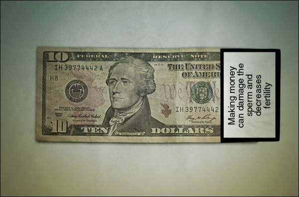 """Money Kills"" – Anti Money Campaign (7 Pictures)"