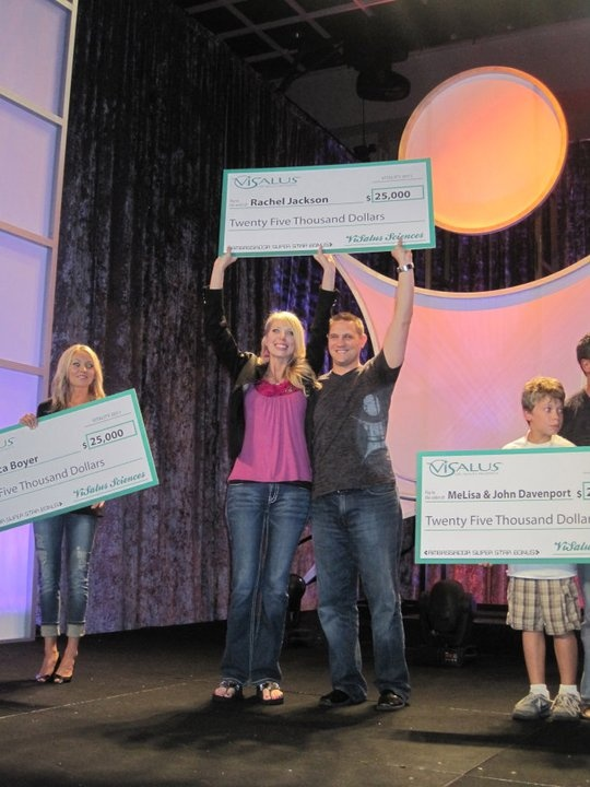 CONGRATULATIONS Rachel... another $25,000 Bonus! Get BIGGER CHECKS & Get Listed for FREE at http://MLMGods.com