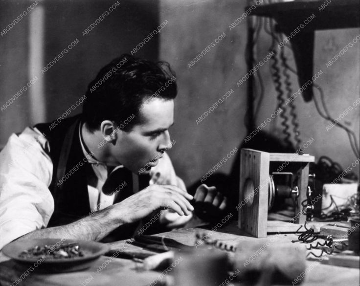 photo Henry Fonda tinkering The Story of Alexander Graham Bell 2062-21
