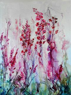 Watercolour Florals: Rose Bay Willow Herb