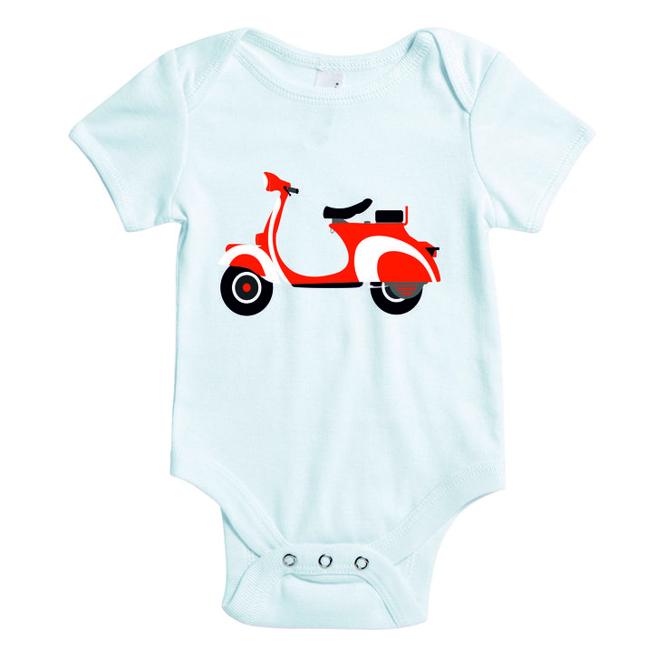 Baby rompertje - scooter
