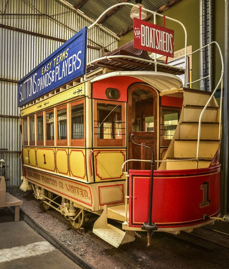 10 things we love about Ballarat. RoyalAuto April 2016. Photographer: Anne Morley  #Ballarat #Goldfields #BallaratTramwayMuseum #Tram