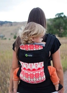 Boba Carrier 3G in the Soho print. Stylin' colors and design for your baby! @Boba #baby #freedomtogether