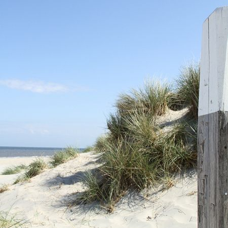 The Netherlands, Province of North Holland - island Texel: Opduin strand.