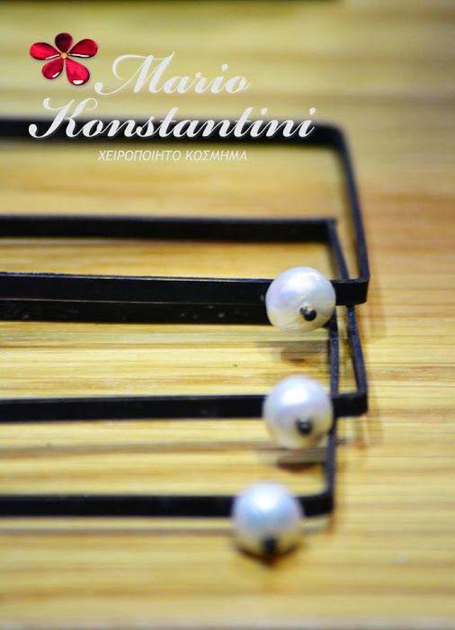 Mario Konstantini - Google+ #handmade #jewellery #jewelry #pearls #bracelet