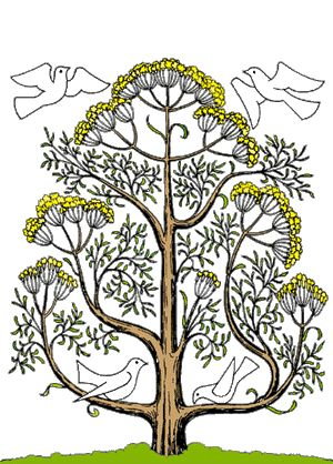 Possible tattoo???  like this rendition of a mustard tree...