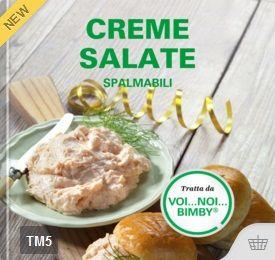 Creme salate spalmabili