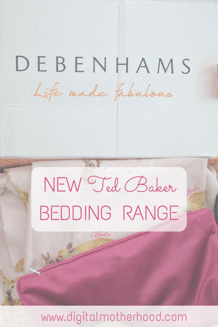4b715c711b37 New Ted Baker Kids  Bedding Range At Debenhams