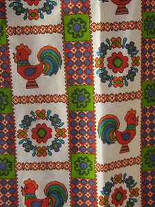 STUNNING PAIR OF 1960S VINTAGE CURTAINS   eBay ONLY £45.00