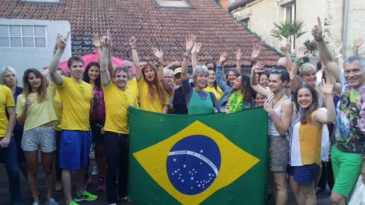 la coupe du monde de Brésil, une occasion de plus à fêter au club !
