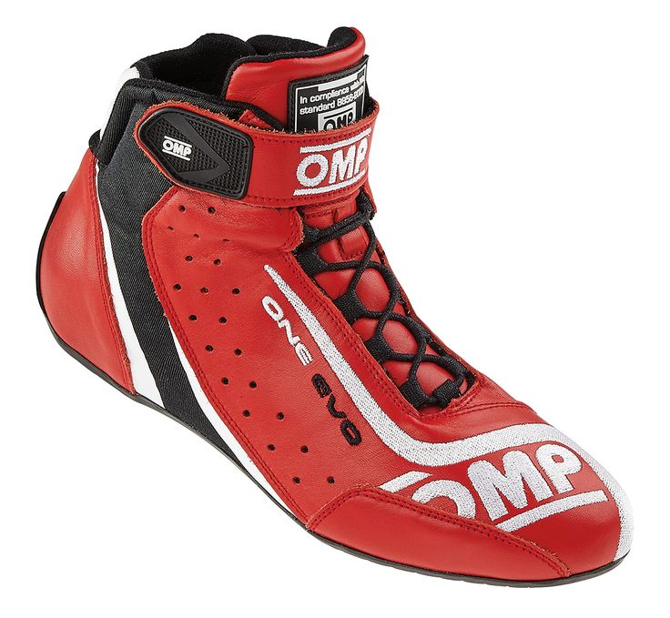 OMP One Evo Race Boots Red