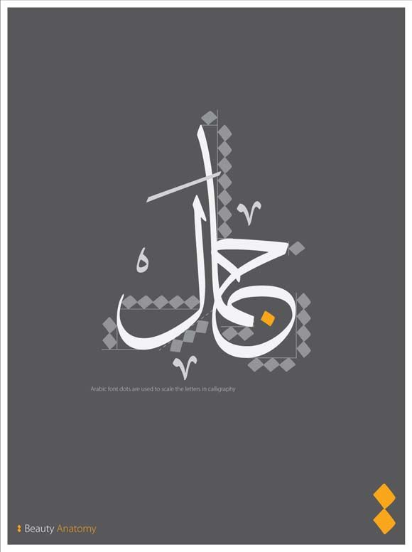 "Arabic: ""Beauty"""