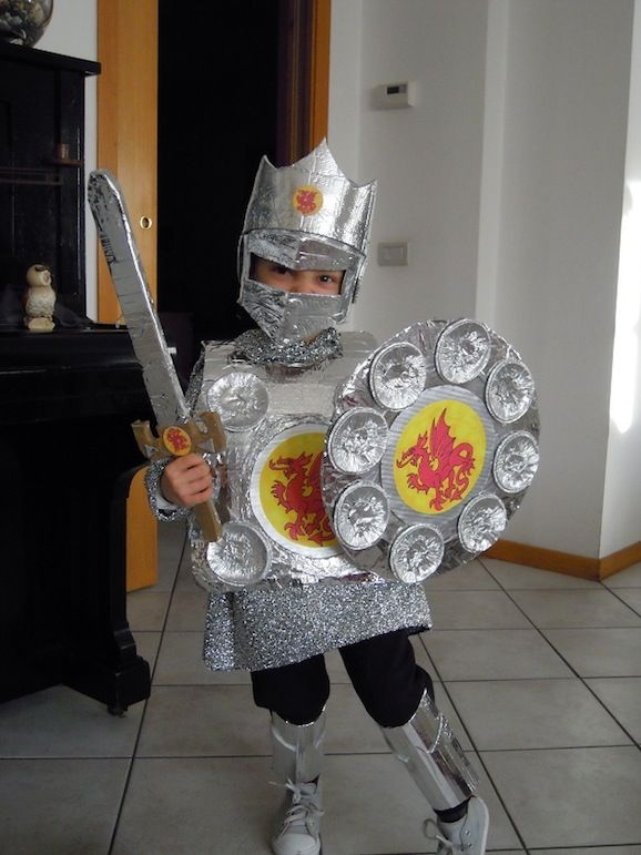Idee di carnevale: il costume da cavaliere di Laura