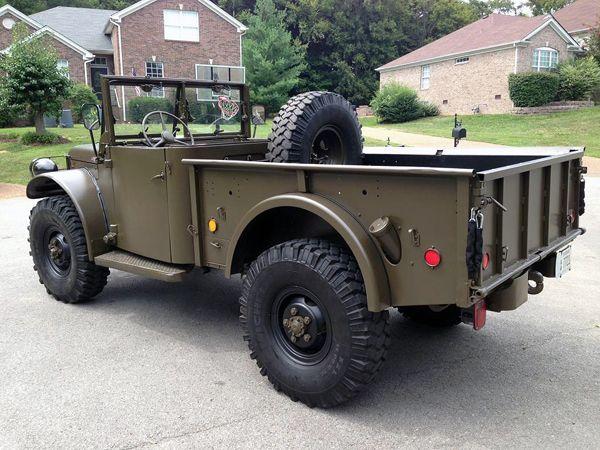 Ls Powered 1951 Dodge M37 Bring A Trailer