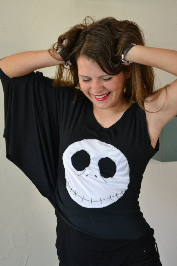 Abstract Nightmare Before Christmas Top by SecrettSerendipity, $45.00