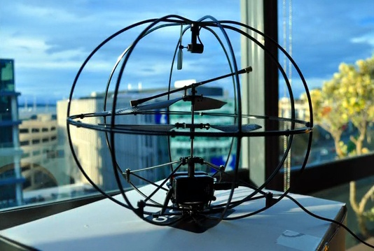 Flying Helicopter Orb Guided By Brainwaves | MIT Technology Review