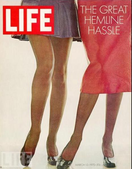 Great cover photo! I want to read the article... I wonder how it would relate to the current revived interest in skirts...?