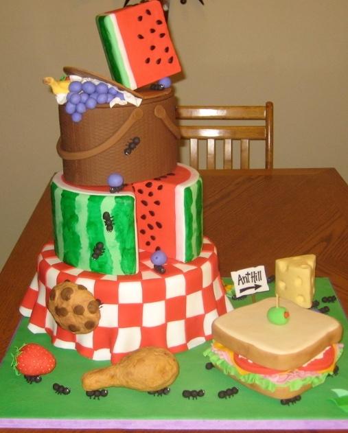 Fabulous Picnic Cake - Love this!