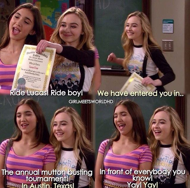 girl meets texas part 1 vodlocker Girl meets world is a series that follows cory and topanga matthews' twelve year old daughter, riley, and her best friend, maya hart, as they.